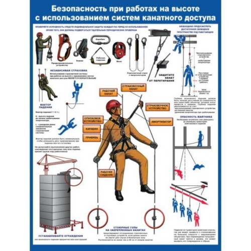 правила безопасности при работе на высоте купить екатеринбург